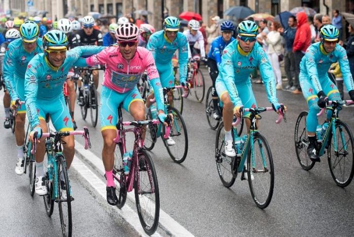 Джиро д'Италия-2016. Результаты 21 этапа