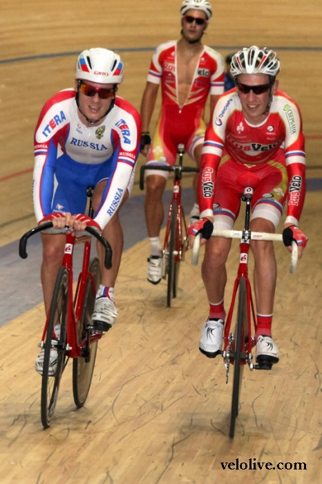 «Олимпийская галерея»: Виктор Манаков, велоспорт-трек, сборная России