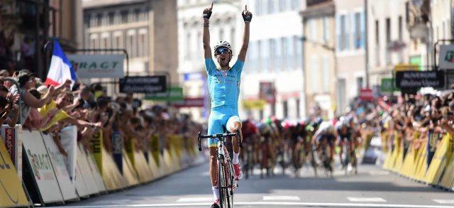 Фабио Ару (Astana) - победитель 3-го этапа Criterium du Dauphine-2016