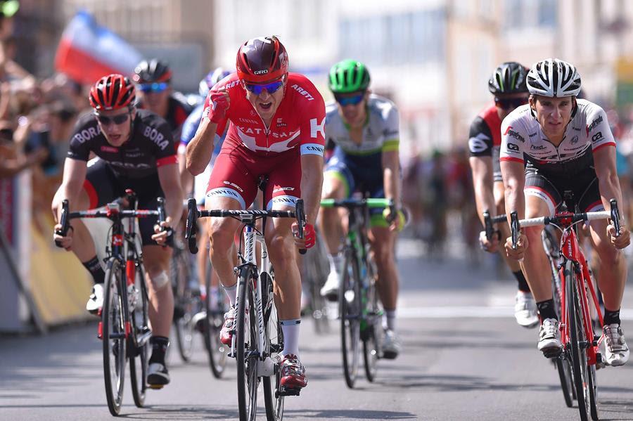 Александр Кристофф финиширует вторым на 3-м этапе Критериум Дофине-2016