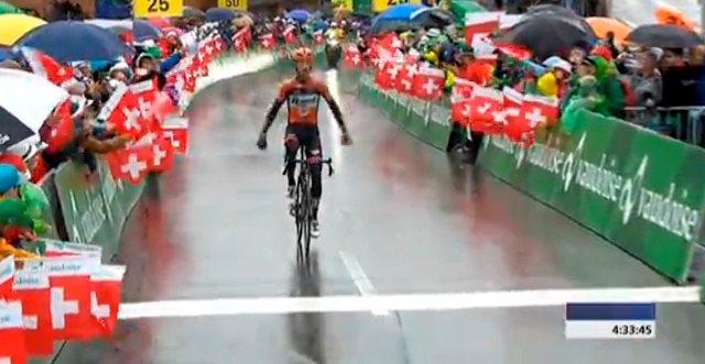 Pieter Weening - победитель 6-го этапа Tour de Suisse-2016