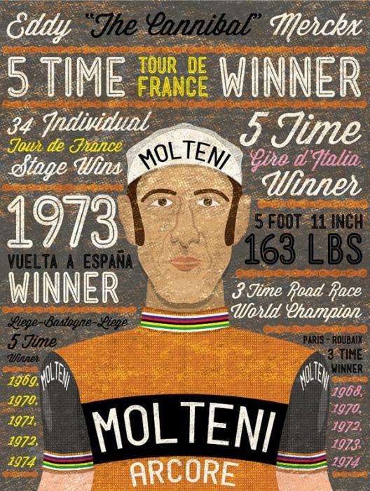 Легенды велоспорта: По дороге Эдди Меркса
