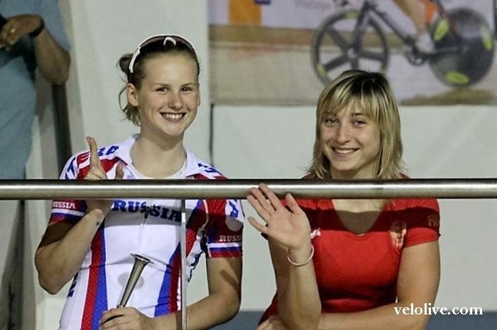 «Олимпийская галерея»: Дарья Шмелёва, велоспорт-трек, сборная России