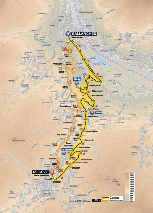 Тур де Франс-2016, превью этапов: 18 этап, Салланш - Межев (ITT), 17 км