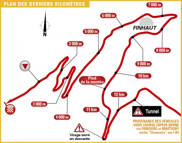 Тур де Франс-2016, превью этапов: 17 этап, Берн - Фино, озеро Эмосон, 184.5 км