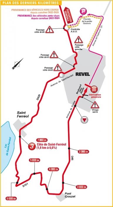 Тур де Франс-2016, превью этапов: 10 этап, Эскальдес-Энгордань - Ревель, 197 км
