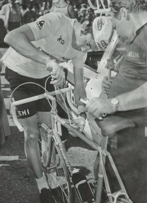 Легенды велоспорта: По дороге Эдди Меркса. Часть 8, «Механик»