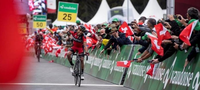 Дарвин Атапума (BMC) о победном этапе Тура Швейцарии-2016