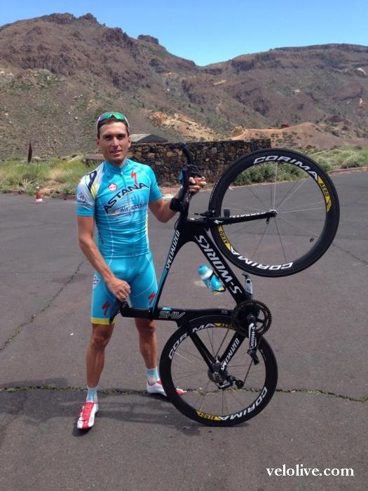 «Олимпийская галерея»: Андрей Гривко, велоспорт-шоссе, сборная Украины