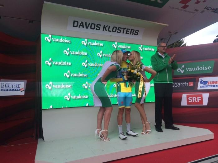 Йон Исагирре (Movistar) - победитель 8-го этапа Тура Швейцарии-2016