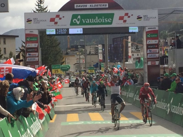 Харлинсон Пантано (IAM Cycling) - победитель 9-го этапа Тура Швейцарии-2016