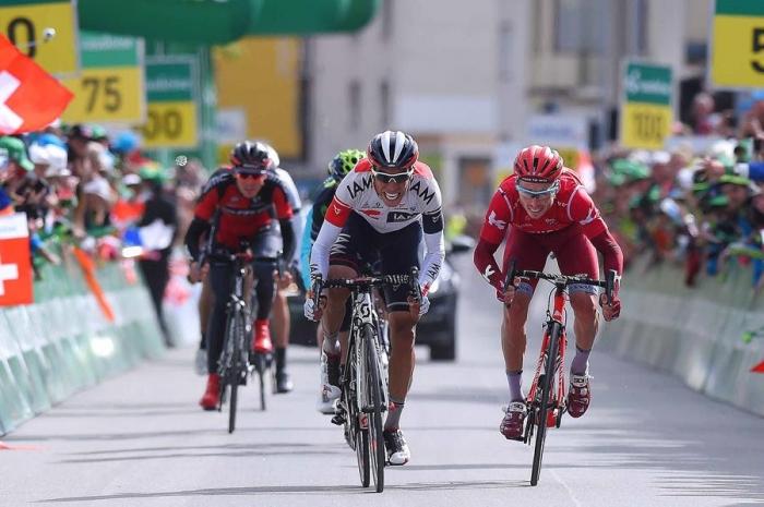 Сергей Чернецкий – 2-й на финальном этапе; KATUSHA выигрывает командный зачет Тура Швейцарии-2016
