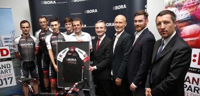 Проконтинентальная команда BORA – ARGON 18 собирается получить лицензию команды Мирового тура в 2017 году