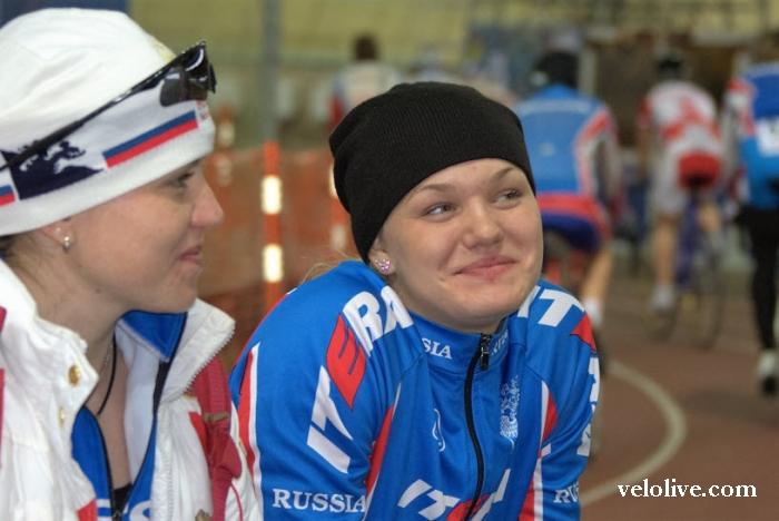 «Олимпийская галерея»: Анастасия Войнова, велоспорт-трек, сборная России