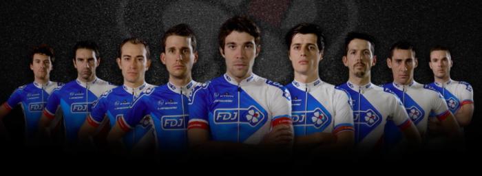 Состав команды FDJ на Тур де Франс-2016