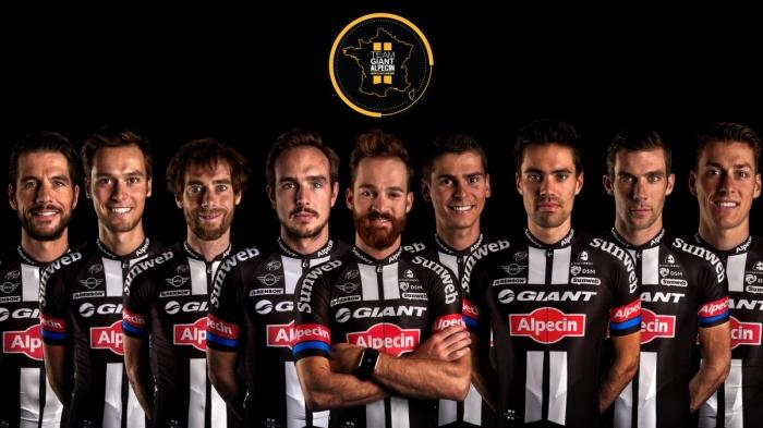 Состав команды Giant-Alpecin на Тур де Франс-2016
