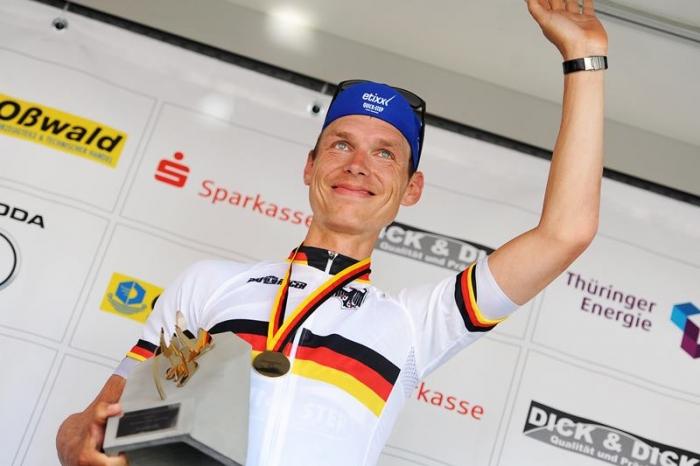 Тони Мартин - чемпион Германии в индивидуальной гонке на время