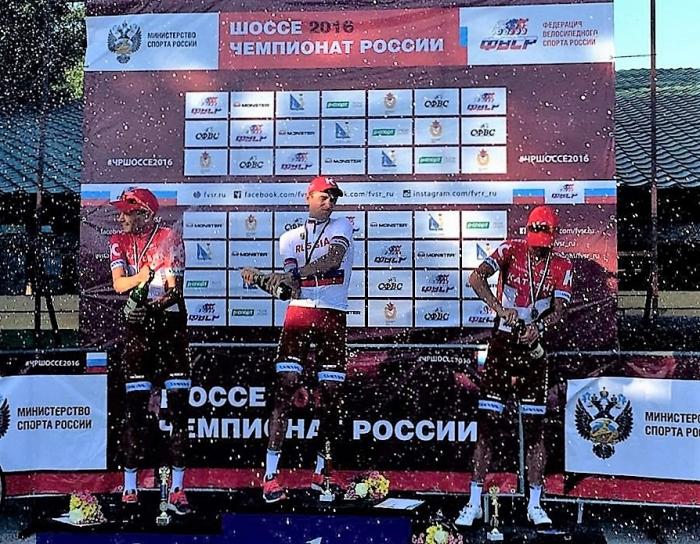 Чемпионат России. Кочетков выигрывает, Бельков и Лагутин дополняют подиум