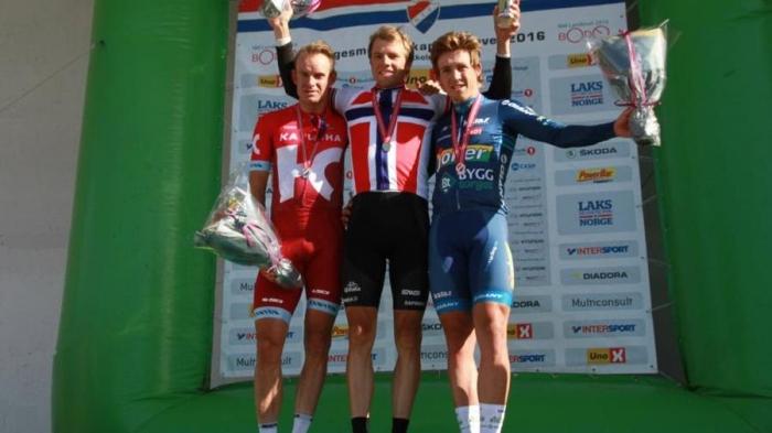 Александр Кристофф – серебряный призер чемпионата Норвегии