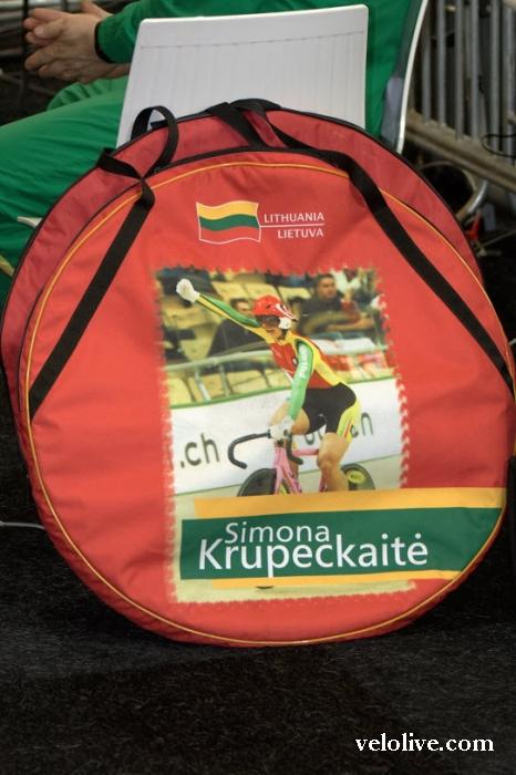 «Олимпийская галерея»: Симона Крупецкайте, велоспорт-трек, сборная Литвы