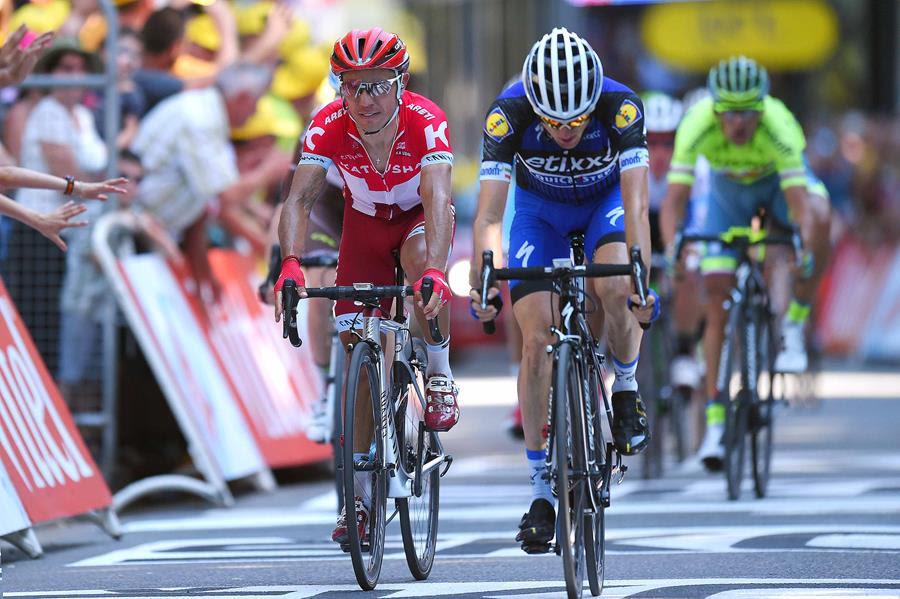 Хоаким Родригес – 3-й на восьмом этапе в Пиренеях на Тур де Франс-2016