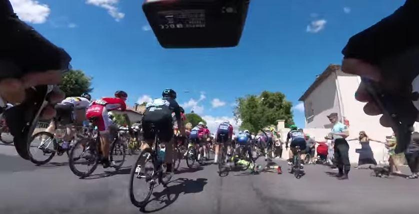 Видеокамеры на велосипедах. Тур де Франс-2016, 11 этап