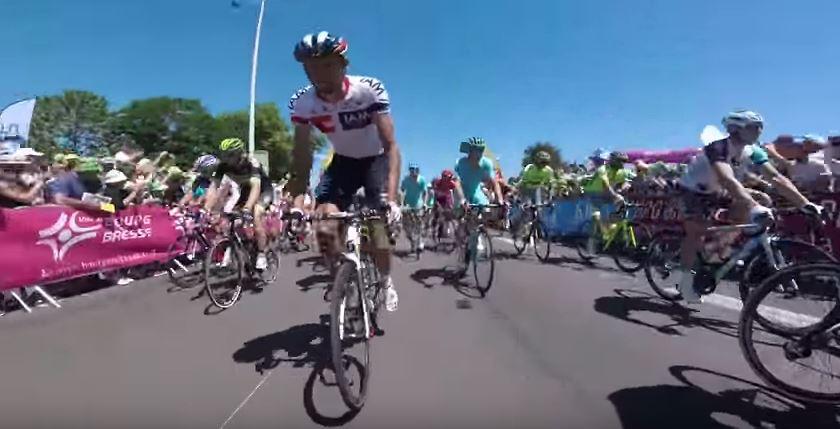Видеокамеры на велосипедах. Тур де Франс-2016, 15 этап