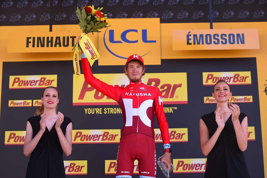 Ильнур Закарин побеждает в Альпах на Тур де Франс-2016