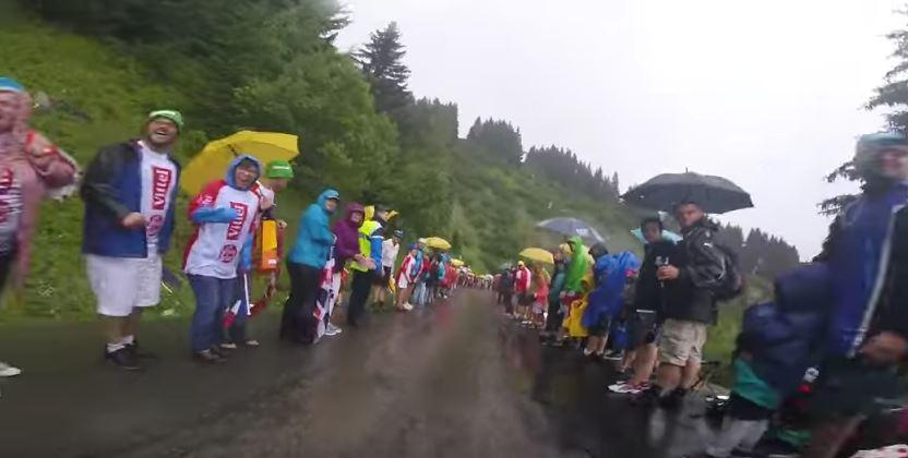 Видеокамеры на велосипедах. Тур де Франс-2016, 20 этап
