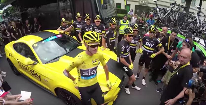 Видеокамеры на велосипедах. Тур де Франс-2016, 21 этап