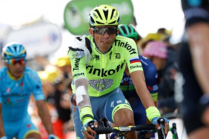 Альберто Контадор о падении на 1-м этапе Тур де Франс-2016