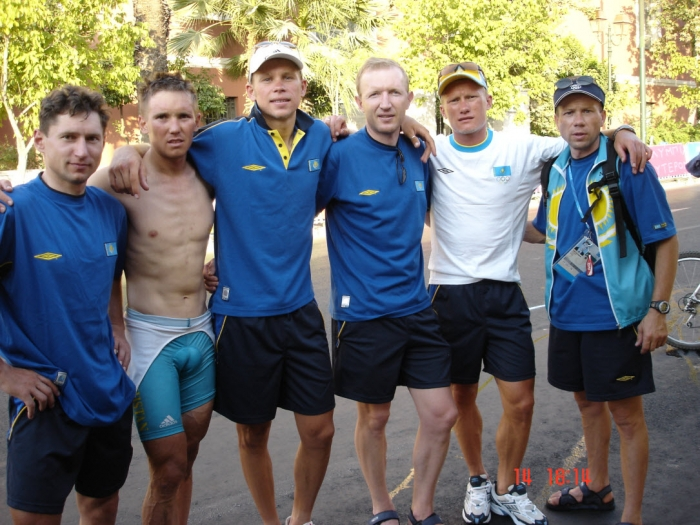 «Олимпийская галерея»: Юрий Кулишкин, велоспорт, массажист, сборная Казахстана