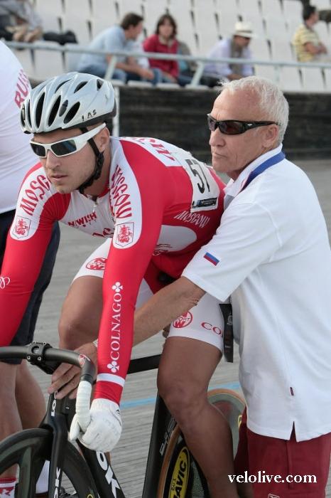 «Олимпийская галерея»: Денис Дмитриев, велоспорт-трек, сборная России. Часть 3