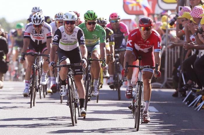 Александр Кристофф финиширует вторым на 14-м этапе Тур де Франс-2016