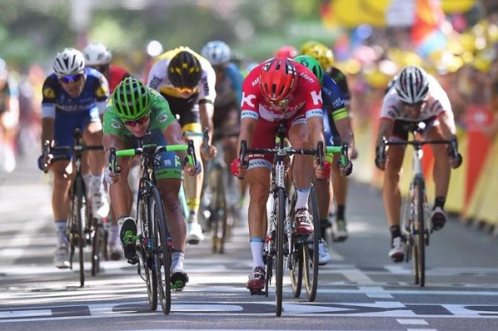 Александр Кристофф – второй в спринте на 16-м этапе Тур де Франс-2016