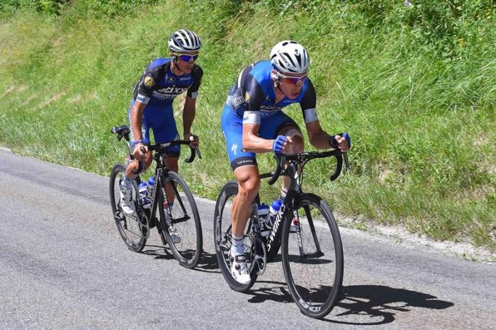 Тони Мартин и Жулиан Алафилипп - обладатели красных номеров на 16 этапе Тур де Франс-2016