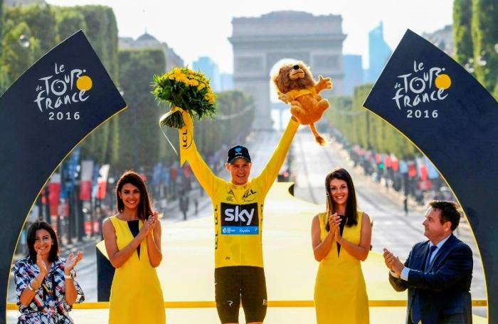 Крис Фрум - трёхкратный победитель Тур де Франс