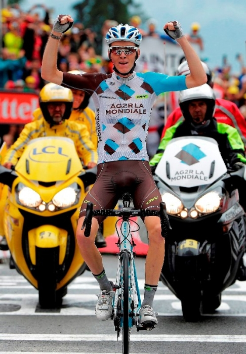 Роман Барде - французский призёр Тур де Франс-2016