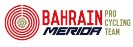 Фенг Чун-Кай, Энрико Гаспаротто, Никколо Бонифацио, Иван Гарсия Кортина - гонщики команды Bahrain Merida