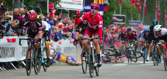 Александр Кристофф – 3-й на последнем этапе Тур де Франс-2016