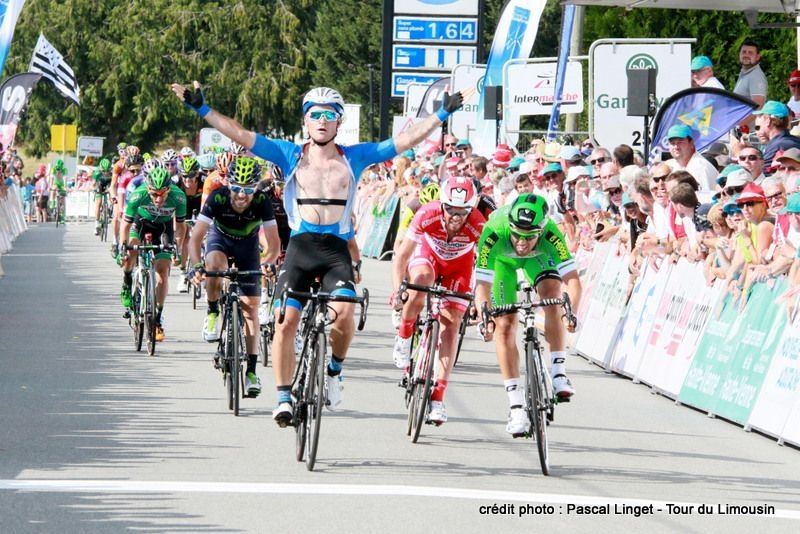 Победа Романа Майкина на втором этапе «Тура де Лимузен»