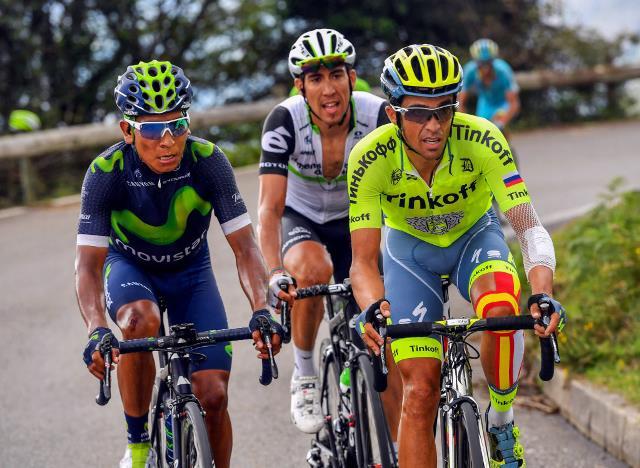 Наиро Кинтана: Мне не нравится, когда гонку едут три лидера