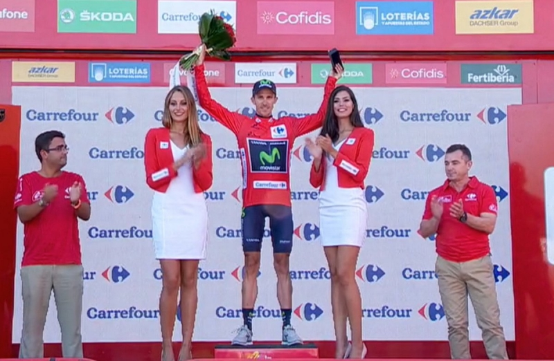 Александр Женьес - победитель 3-го этапа Вуэльты Испании-2016