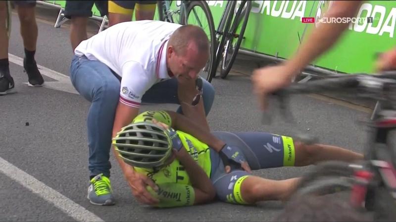 Джанни Мерсман - победитель 5-го этапа Вуэльты Испании-2016