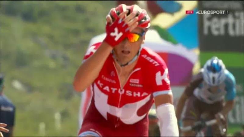 Сергей Лагутин – победитель 8-го этапа Вуэльты Испании-2016
