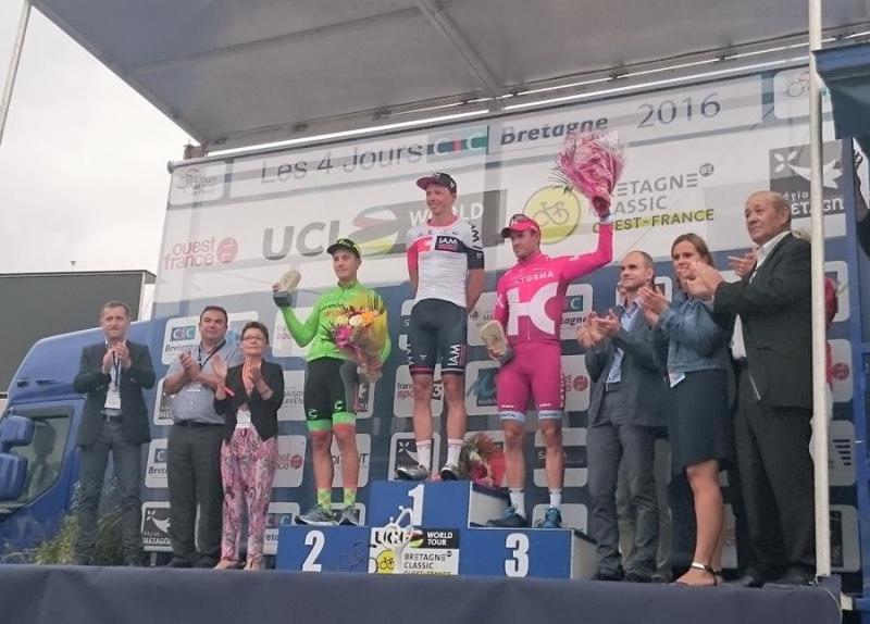 Александр Кристофф финиширует третьим на Бретань Классик – Овест-Франс-2016