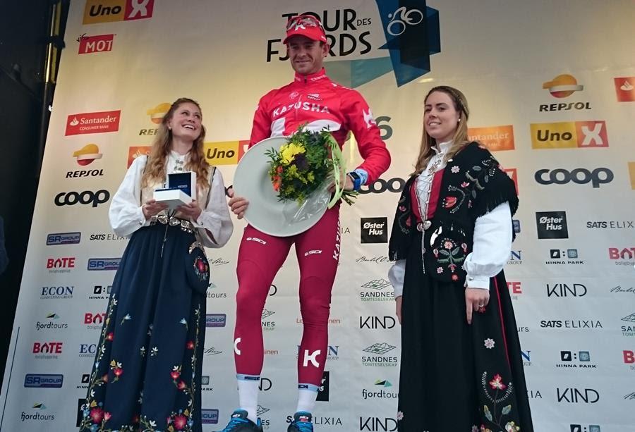 Александр Кристофф делает дубль и становится лидером на Туре Фьордов-2016