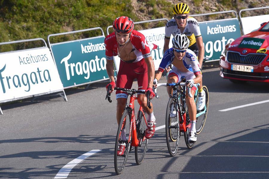 Егор Силин – третий на королевском горном этапе на Вуэльте Испании-2016
