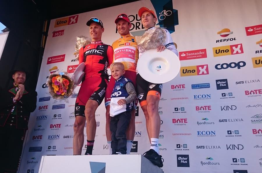 Александр Кристофф побеждает на домашней гонке Тур Фьордов-2016