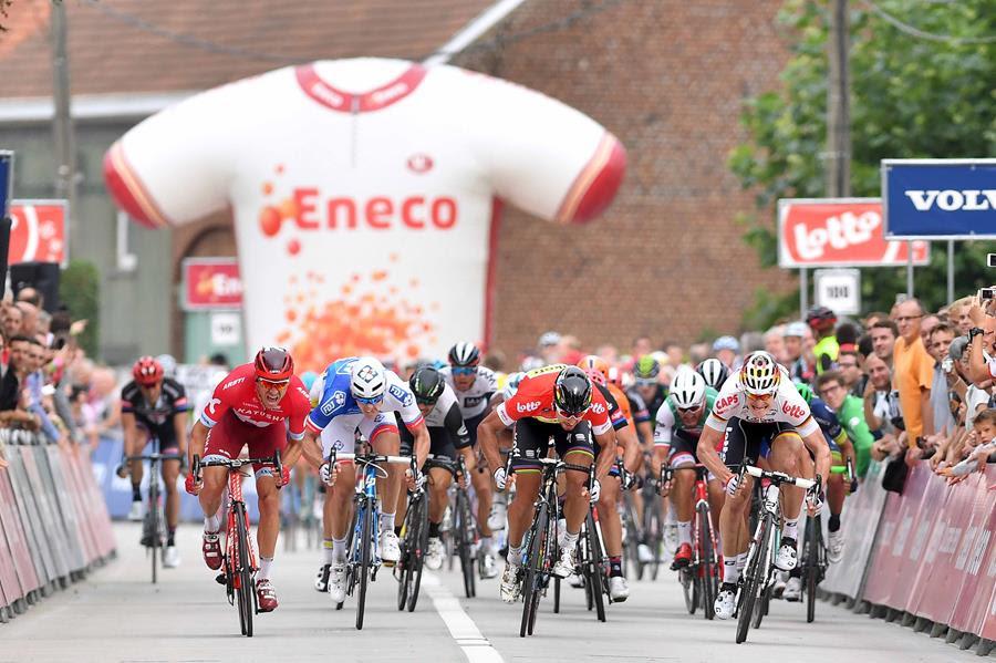 Александр Кристофф финиширует 3-м на четвертом этапе Энеко Тур-2016